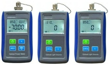 Fiber Optics Light Source and Power Meter