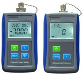 fiber optics power meter light source